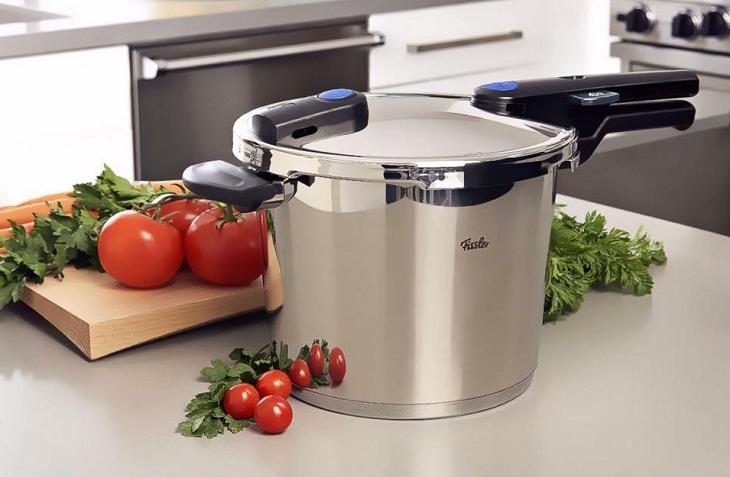 Kinh nghiệm chọn mua nồi áp suất cơ sử dụng được cho bếp từ