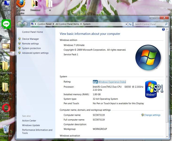 Dùng Computer Properties để xem cấu hình laptop, máy tính