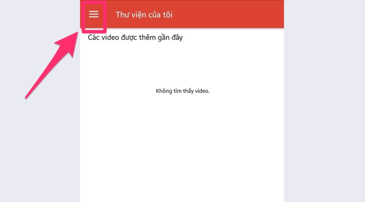 Giao diện ứng dụng Video & TV SideView