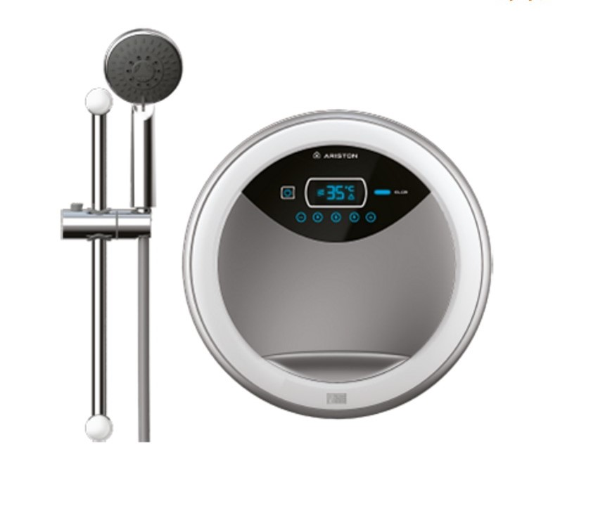 Máy nước nóng Aures Luxury bơm tròn