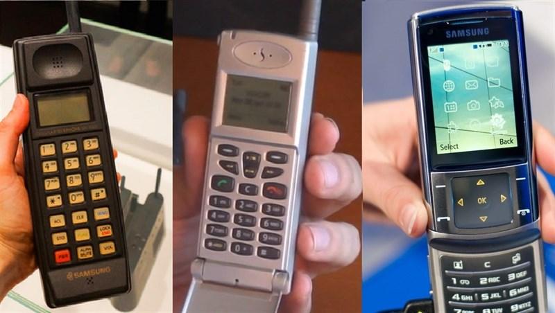 """Lịch sử phát triển điện thoại """"cục gạch"""" của Samsung"""