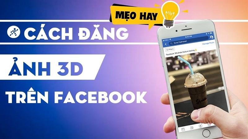 Ảnh 3D Facebook