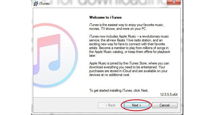 Hướng dẫn cài đặt Itunes cho máy tính Windows