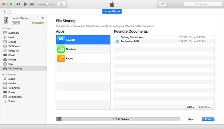 Công dụng của iTunes