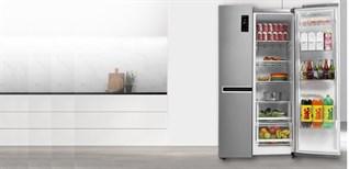 Cách sử dụng bảng điều khiển tủ lạnh LG Inverter 626 lít GR-B247JS