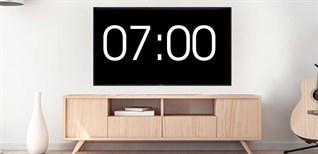 Cách hẹn giờ tắt, bật cho Smart tivi Samsung