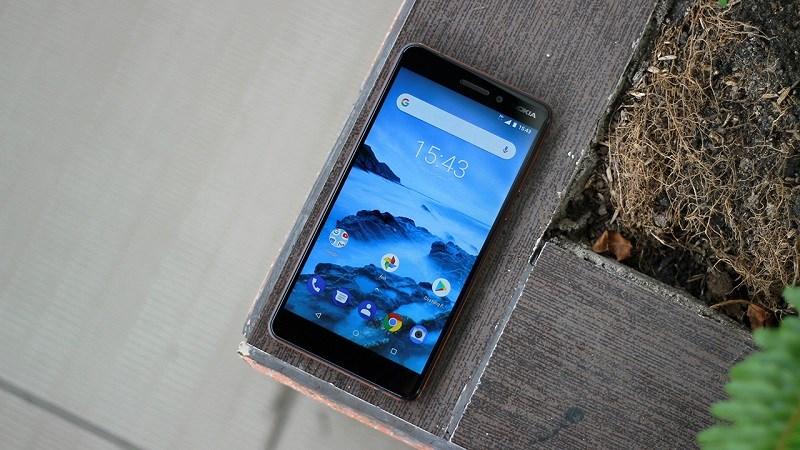 Nokia 6.1 chính thức được cập nhật Android 9 Pie