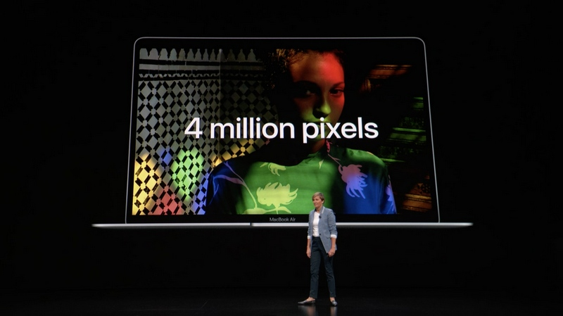 Apple ra mắt MacBook Air mới: Màn hình Retine, Touch ID, USB-C