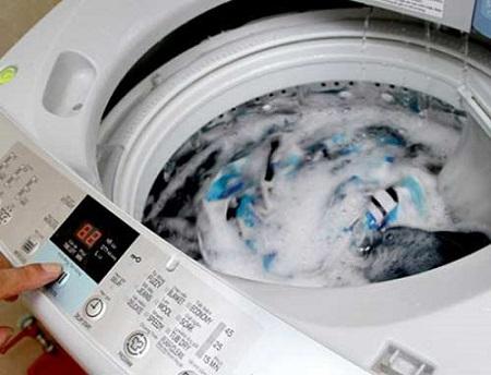 Vị trí máy giặt đặt ở nơi nguồn nước không ổn định