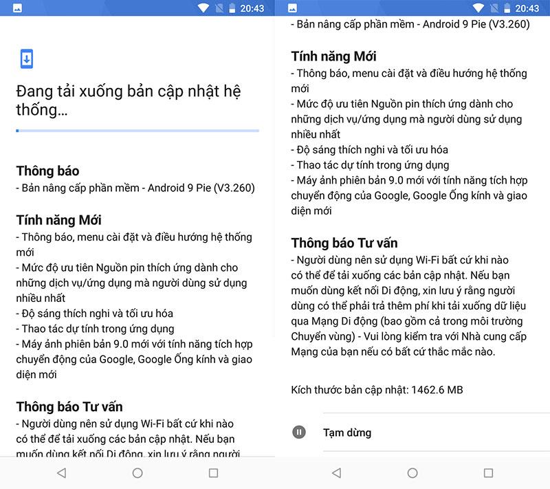 Hướng dẫn cập nhật Android Pie 9.0 cho Nokia 7 Plus, Nokia 6.1 và Nokia 6.1 Plus - ảnh 3