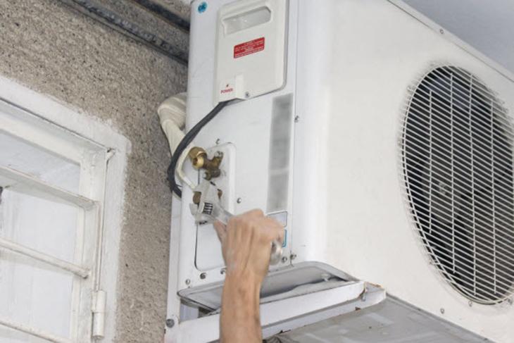 Máy lạnh thiếu gas
