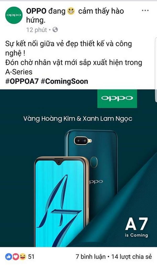 Rò rỉ thông tin Oppo A7 2018 sắp ra mắt 1_600x1008