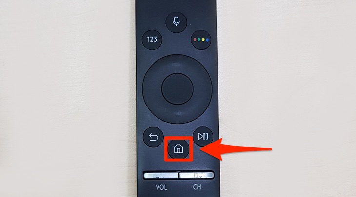 Remote của Smart tivi Samsung