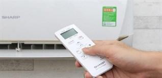 Hướng dẫn sử dụng remote dòng máy lạnh Sharp AH-XxxVEW