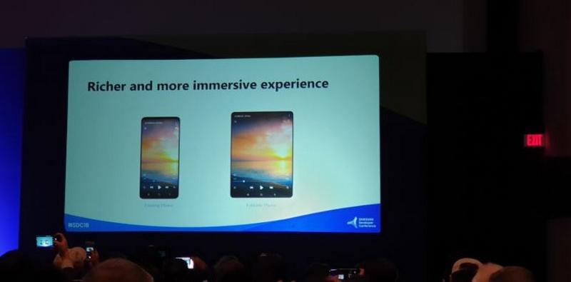 Samsung giới thiệu màn hình gập tại SDC 2019
