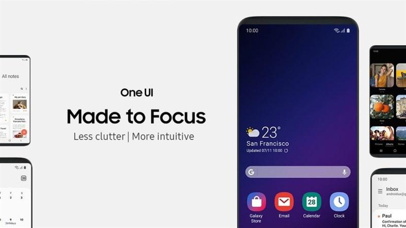 Samsung ra mắt giao diện mới - One UI, hỗ trợ cho cả smartphone màn hình gập