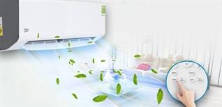 Hướng dẫn sử dụng remote dòng máy lạnh Beko RSSC*CV