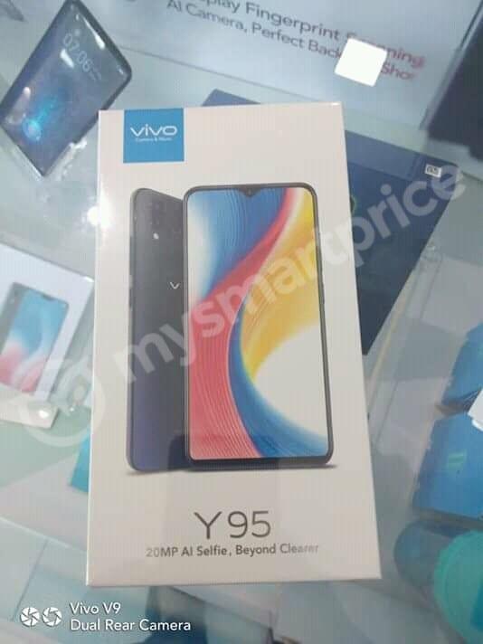 Vivo Y95 lộ ảnh quảng cáo, hộp đựng máy và thông số kỹ thuật - ảnh 2