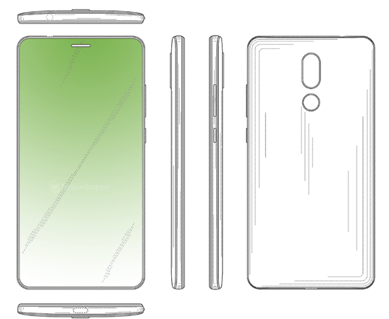 Huawei nộp bằng sáng chế smartphone tràn viền 100%, chỉ có loa thoại - ảnh 2