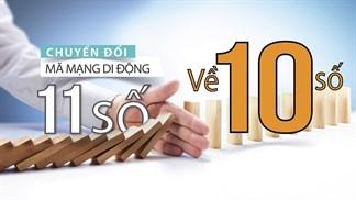 Ngày mai 15/11, các nhà mạng sẽ dừng hỗ trợ liên lạc với thuê bao 11 số