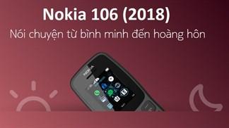 HMD Global ra mắt Nokia 106 (2018), bổ sung hai màu mới cho Nokia 230