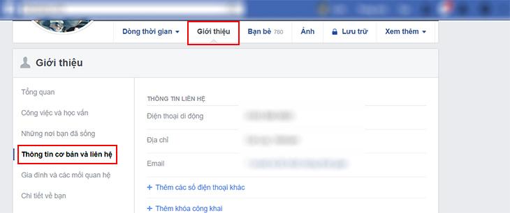Hướng dẫn thay đổi ngày sinh trên Facebook - Bước 1- 2