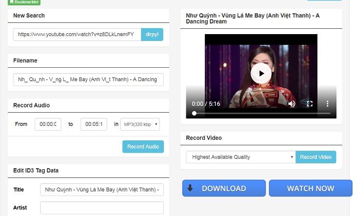 4 Cách Tách Nhạc Và Tải Nhạc Từ Video Youtube Về Máy Tính Laptop