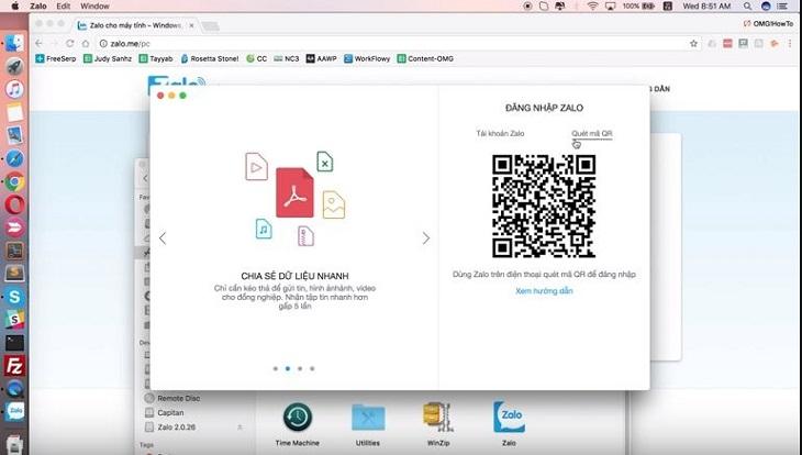 4 bước cài đặt và sử dụng Zalo cho Macbook cực nhanh, cực chuẩn