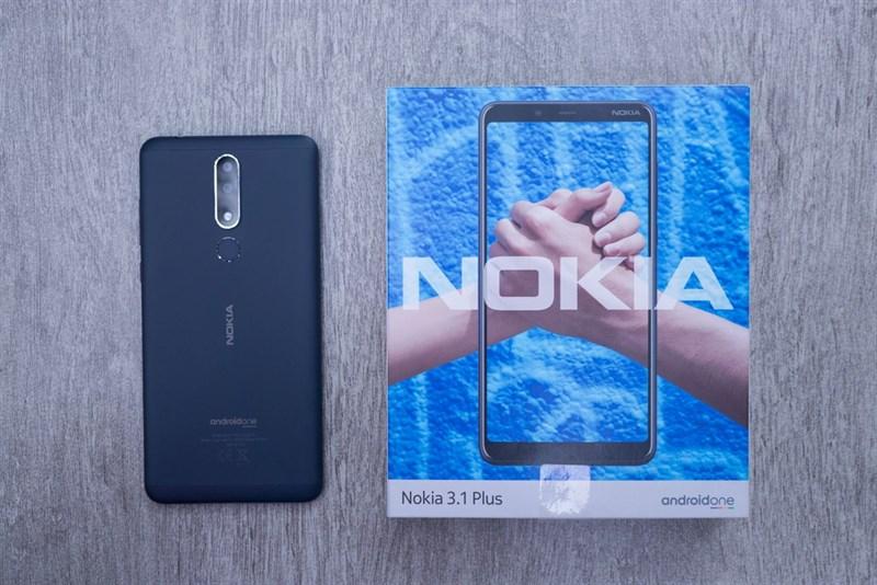 Mở hộp Nokia 3.1 Plus