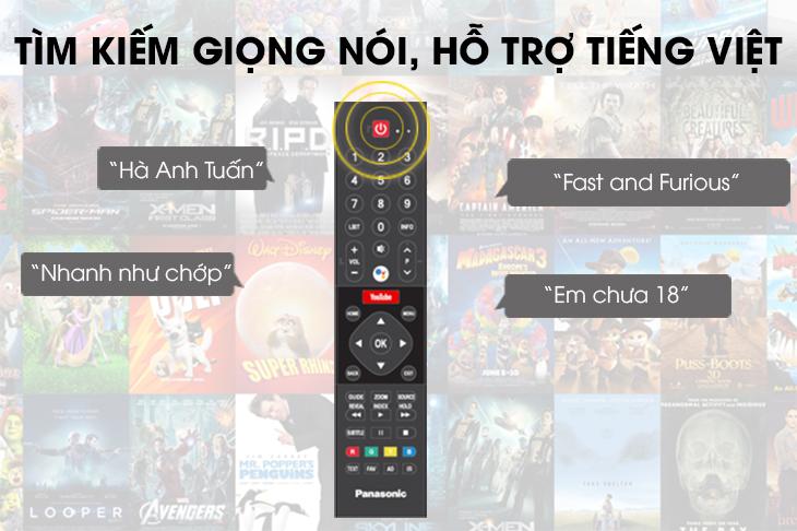 Remote thông minh tích hợp tìm kiếm bằng giọng nói
