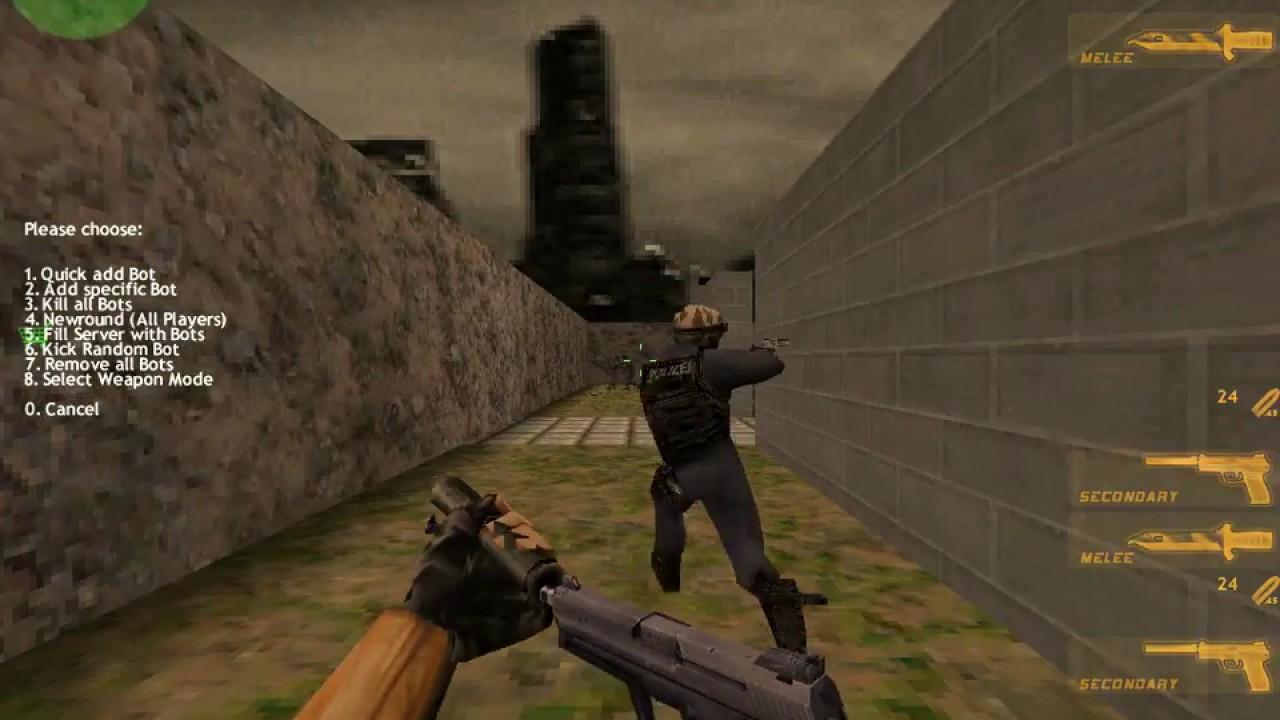Cấu hình tối thiểu của máy để chơi Half Life 1.3: