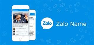 Cách đổi tên Zalo của bạn trên điện thoại, máy tính chưa đến 30 giây
