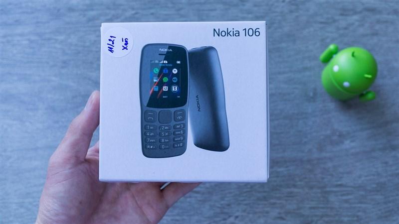 Mở hộp và đánh giá nhanh Nokia 106 2018