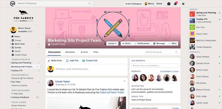 Workplace facebook là gì? Tính năng của workplace