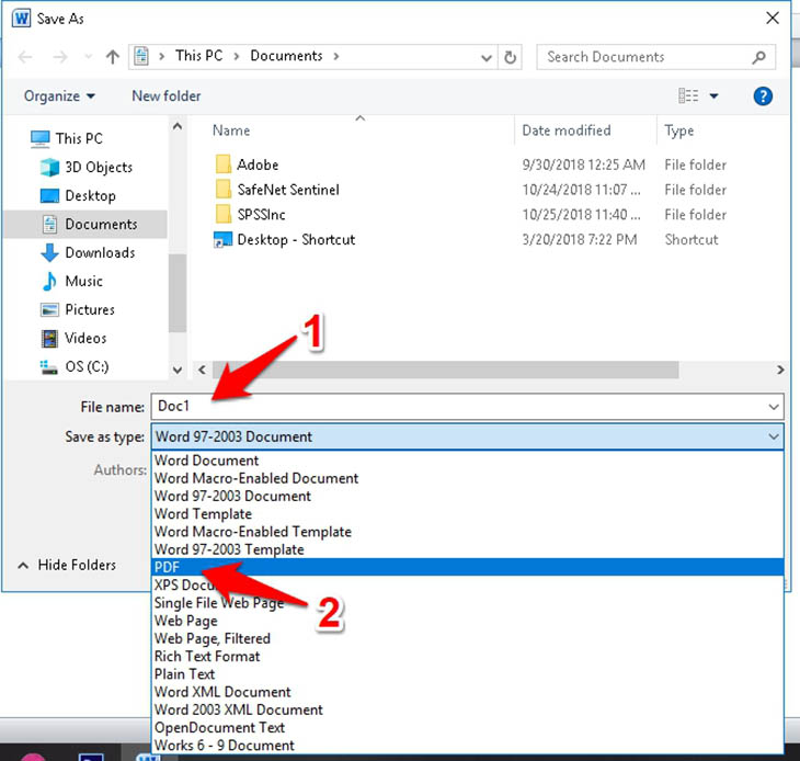 4 cách chuyển file Word sang PDF dễ như trở bàn tay