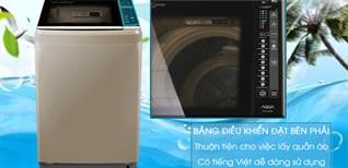 Hướng dẫn sử dụng máy giặt Aqua AQW-U850BT N