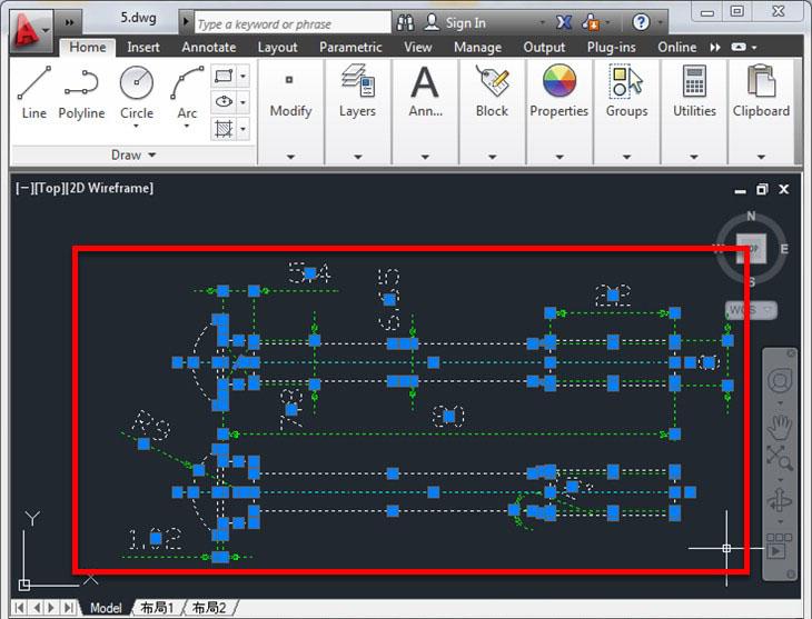 Cách chuyển CAD sang Word + Bước 2