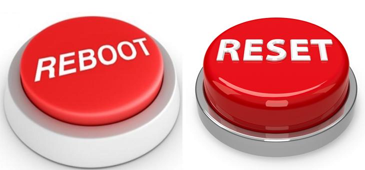 Reboot khác gì với reset?