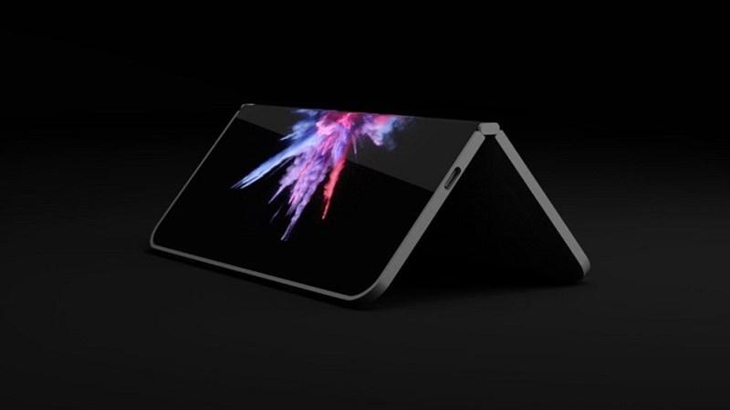 Smartphone màn hình gập Andromeda của Microsoft có thể ra mắt năm 2019