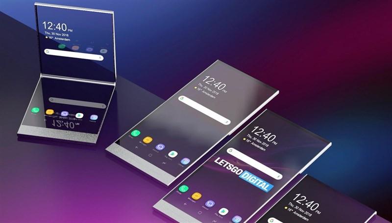 Xuất hiện bằng sáng chế smartphone Sony màn hình gập, 2 màn hình trong suốt