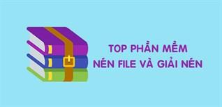 Top 10 phần mềm nén file và giải nén file trên PC, laptop