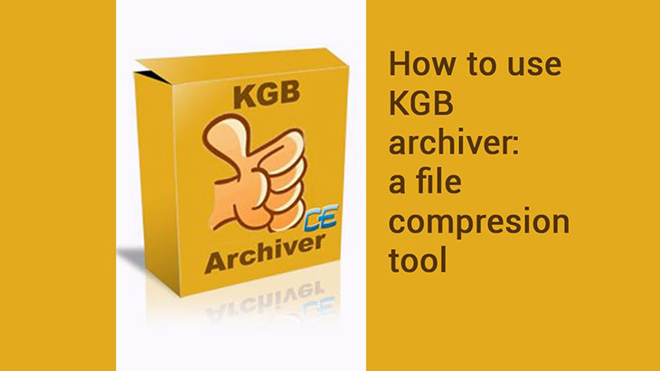 Phần mềm KGB Archiver