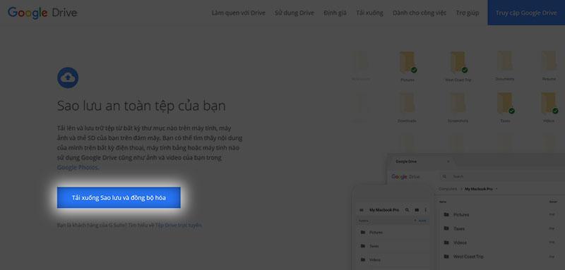 Cách tạo thư mục tự động đồng bộ lên Google Drive