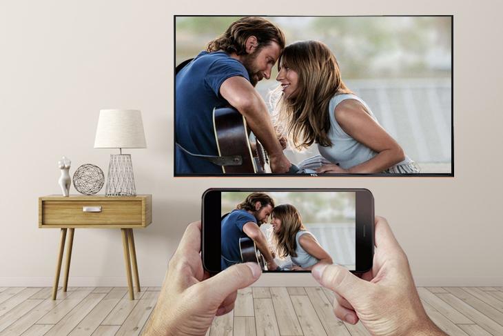 Phản chiếu màn hình điện thoại lên tivi