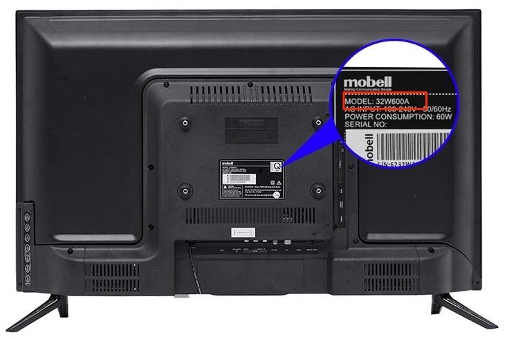 Cách xác định tên tivi Mobell dễ dàng nhất
