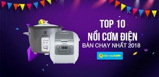 Top 10 nồi cơm điện bán chạy nhất  Điện máy XANH năm 2018
