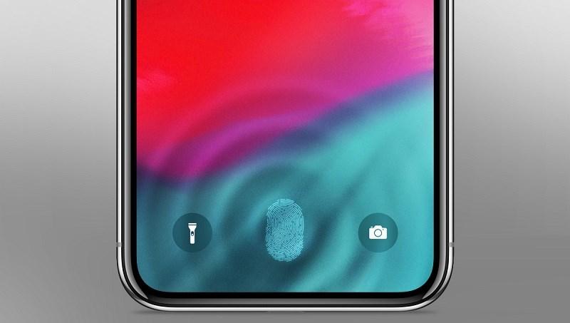 Có Face ID nhưng Apple vẫn đang quan tâm tới công nghệ vân tay dưới màn hình