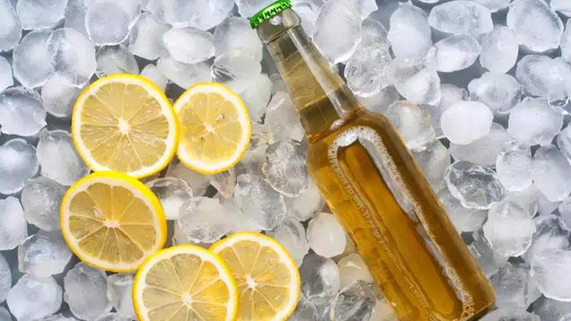 Tắm trắng với bia và chanh tươi