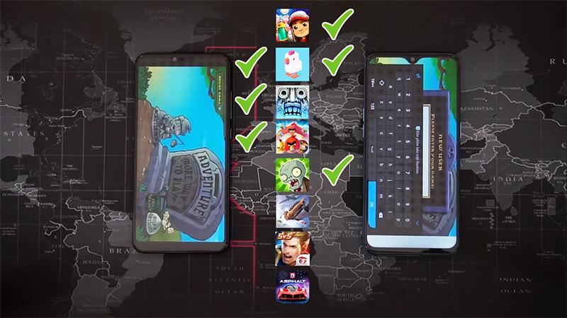 Xiaomi Mi 8 Lite và Realme 2 Pro