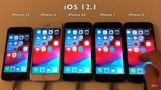 Thời lượng pin trên iOS 12.1.1 so với iOS 12.1 có sự khác biệt không?